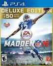 SONY PlayStation 4 Game PS4 NFL  MADDEN16 DELUXE EDITION